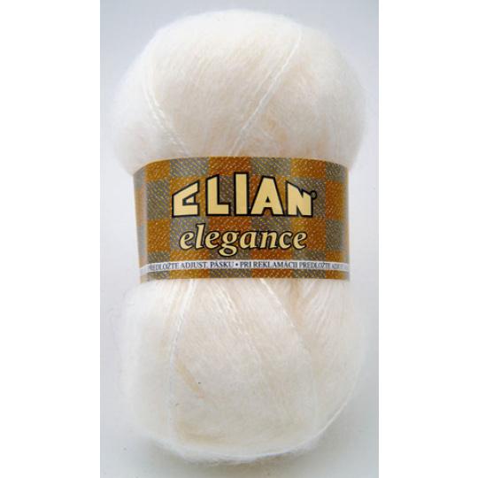 Włóczka Elian Elegance 208 kolor biały