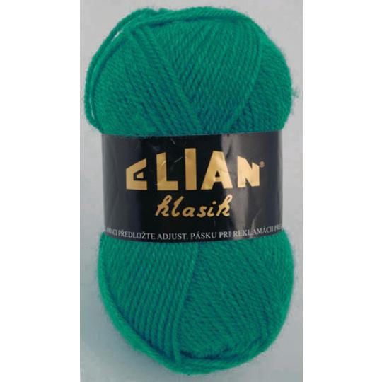 Włoczka Elian Klasik 132 kolor zielony
