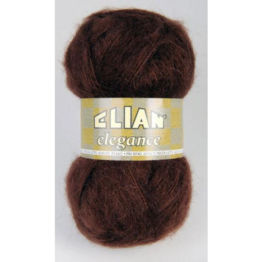Włóczka Elian Elegance 3624 kolor brązowy