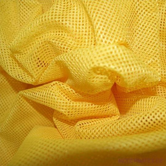 Elastyczna siatka poliestrowa żółta, oczka 1x1 mm - DZ-008-102