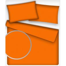 Tkanina Bawełniana Jednokolorowa Pomarańczowa