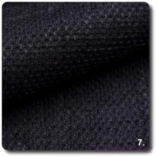Tkanina obiciowa NEVADA w kolorze czarnym