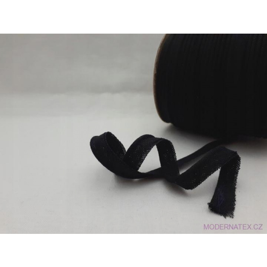 Lamówka bawełniana czarna 332