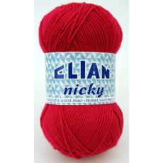 Włóczka Elian Nicky 3594 kolor czerwony