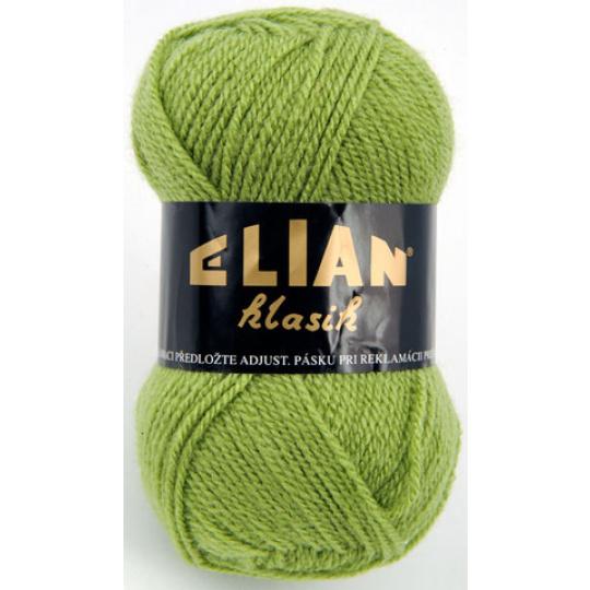 Włoczka Elian Klasik 3826 kolor zielony