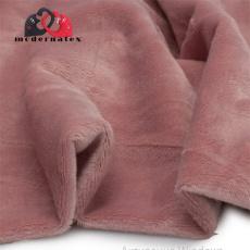 Minky kolor jednokolorowy stary różowy