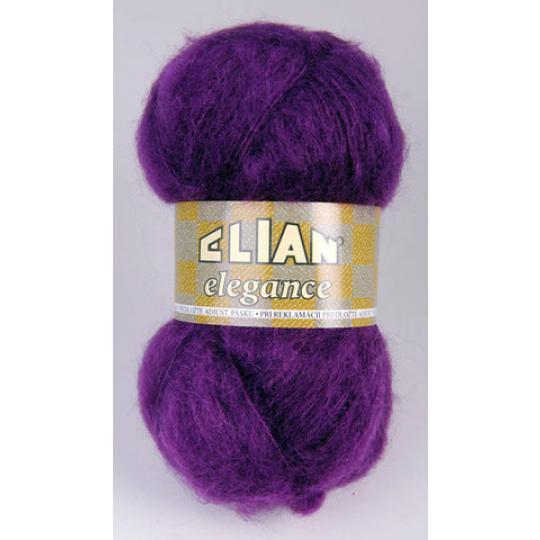 Włóczka Elian Elegance 3374 kolor fioletowy