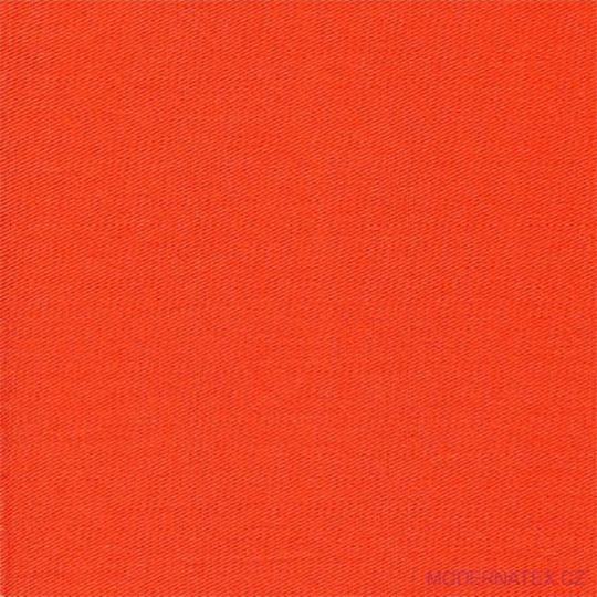 Diagonal bawełniany Pomarańczowy 245x31