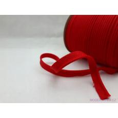 Lamówka bawełniana czerwona 148