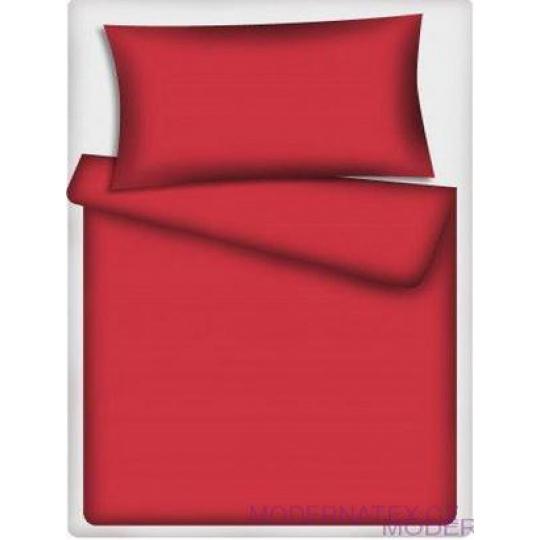 Tkanina Bawełniana Jednokolorowa Czerwona