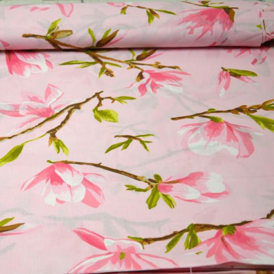 Tkanina bawełniana wzór kwiaty 1040