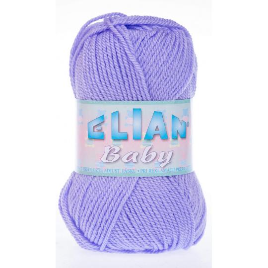 Włóczka Elian Baby 10625 kolor fioletowy
