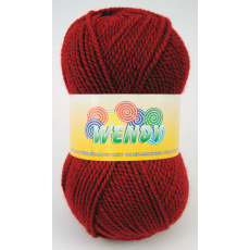 Włóczka Elian Wendy 3252 kolor czerwony