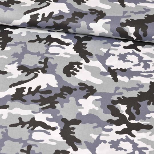 Tkanina bawełniana wzór MORO CZARNE