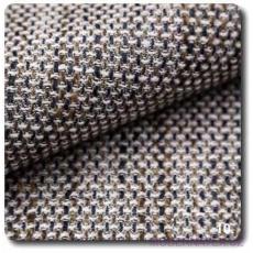 Tkanina obiciowa NEVADA w kolorze biało - brązowym