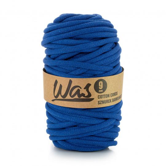 Sznurek bawełniany 9mm, 50m Ciemny niebieski