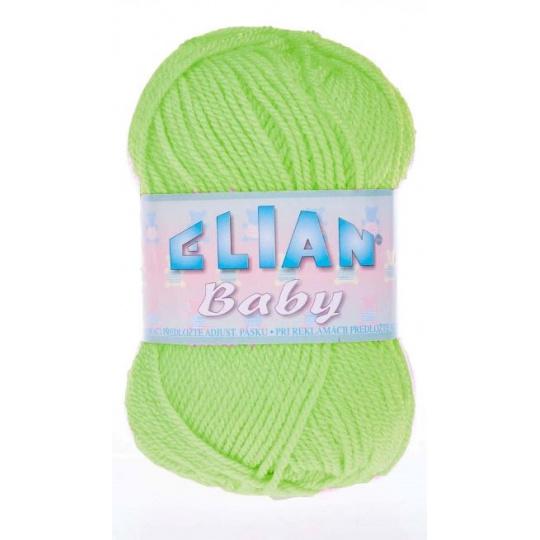 Włóczka Elian Baby 6712 kolor zielony
