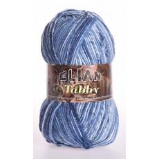 Włóczka Elian Tabby 31892 kolor niebieski