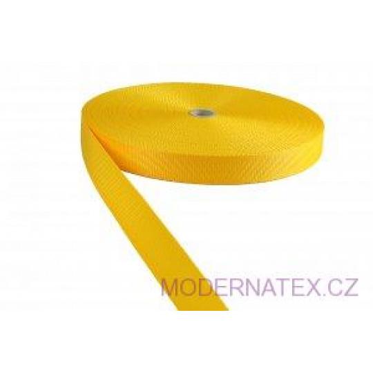 Pas polipropylenowy 30 mm - żółty