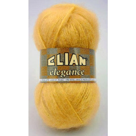 Włóczka Elian Elegance 5095 kolor żółty