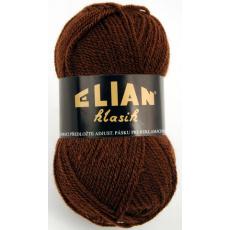Włoczka Elian Klasik 367 kolor brązowy