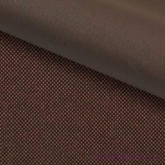 Tkanina wodoodporna KODURA w kolorze ciemnobrązowym