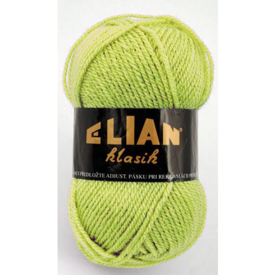 Włoczka Elian Klasik 10024 kolor zielony