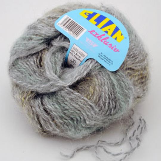 Włóczka Elian Exklusiv 11 kolor szary