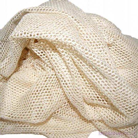 Siatka bawełniana, oczka 3x3 mm