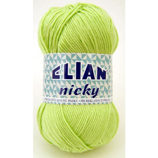 Włóczka Elian Nicky 487 kolor zielony