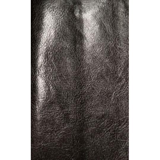 Eko skóra szkliwiona w kolorze Brązowym