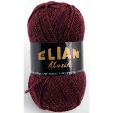 Włoczka Elian Klasik 3501 kolor winny