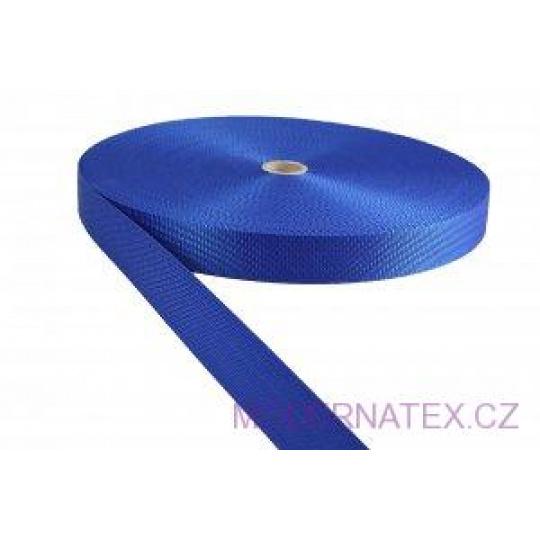 Pas polipropylenowy 25 mm - niebieski