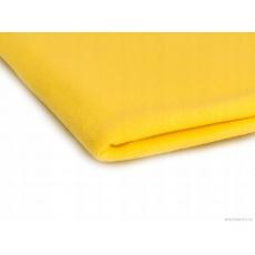 Tkanina Microfleece w kolorze żółtym