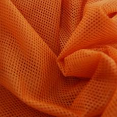 Elastyczna siatka poliestrowa malinowo-pomarańczowa, oczka 2x2 mm - DZ-008-148