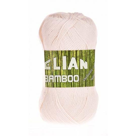 Włóczka Elian Bamboo 6730 kolor naturalny biały