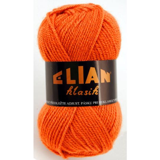 Włoczka Elian Klasik 5206 kolor pomarańczowy
