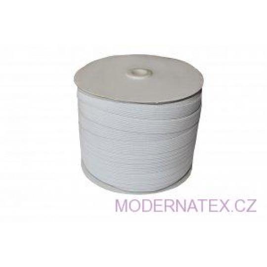 Gumka odzieżowa, szer. 15 mm - Biała, 100 m