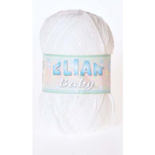 Włóczka Elian Baby 208 kolor biały