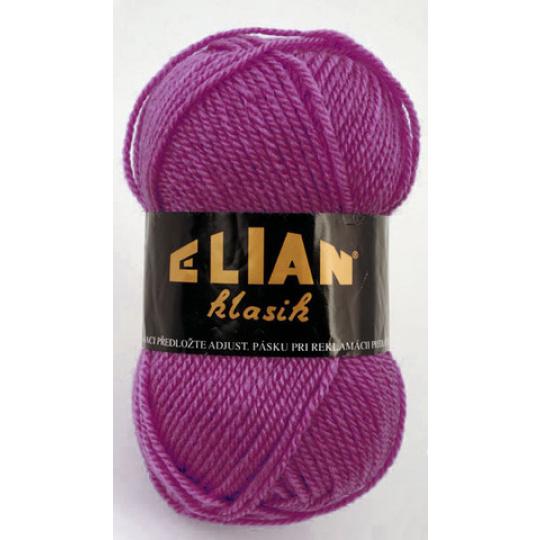 Włoczka Elian Klasik 4967 kolor fioletowy