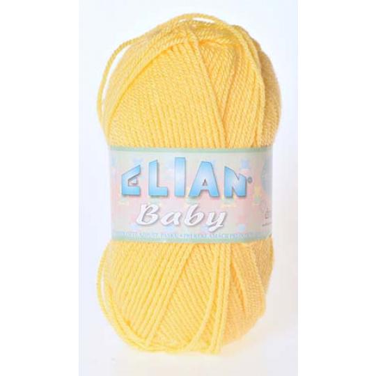 Włóczka Elian Baby 2857 kolor żółty