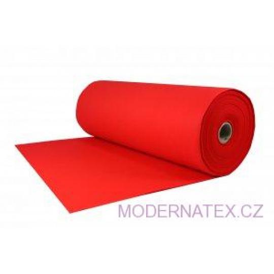 Filc techniczny 4 mm kolor Czerwony