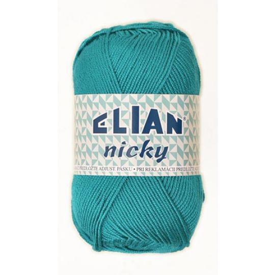 Włóczka Elian Nicky 132 kolor zielony