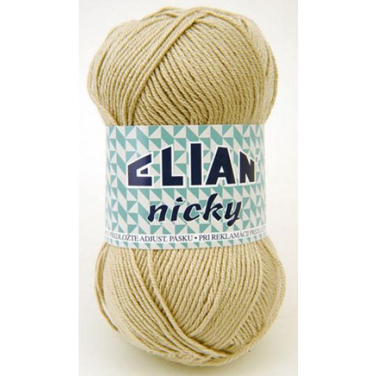 Włóczka Elian Nicky 4701 kolor brązowy