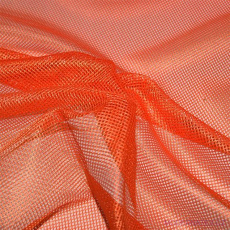 Elastyczna siatka poliestrowa pomarańczowa, oczka 2x2 mm - DZ-008-132