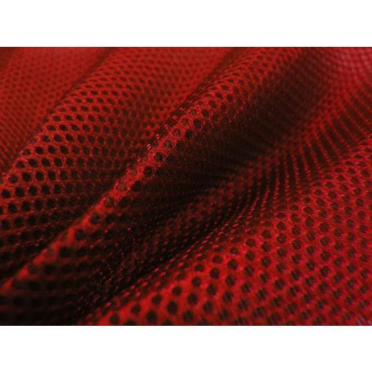 Siatka dystansowa (Tkanina 3D) kolor Czerwony - D171