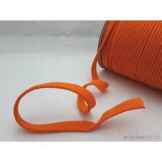 Lamówka bawełniana pomarańczowa 158