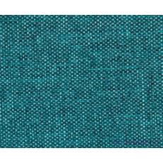 Tkanina Wodoodporna Imitacja Lnu w kolorze turkusowym