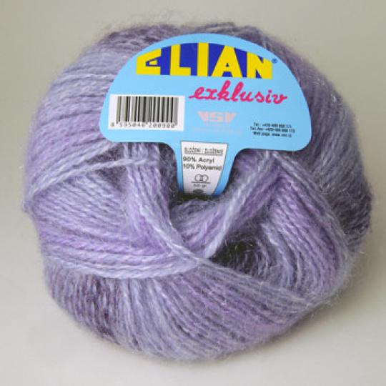 Włóczka Elian Exklusiv 194 kolor fioletowy