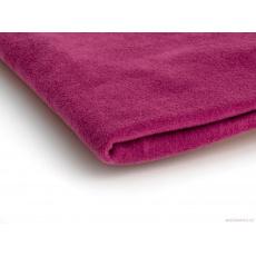 Tkanina Microfleece w kolorze ciemnego różu